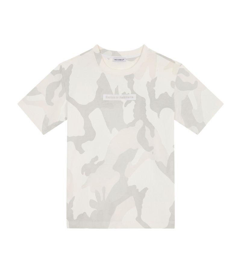 Dolce & Gabbana Kids Camouflage T-Shirt (2-6 Years)