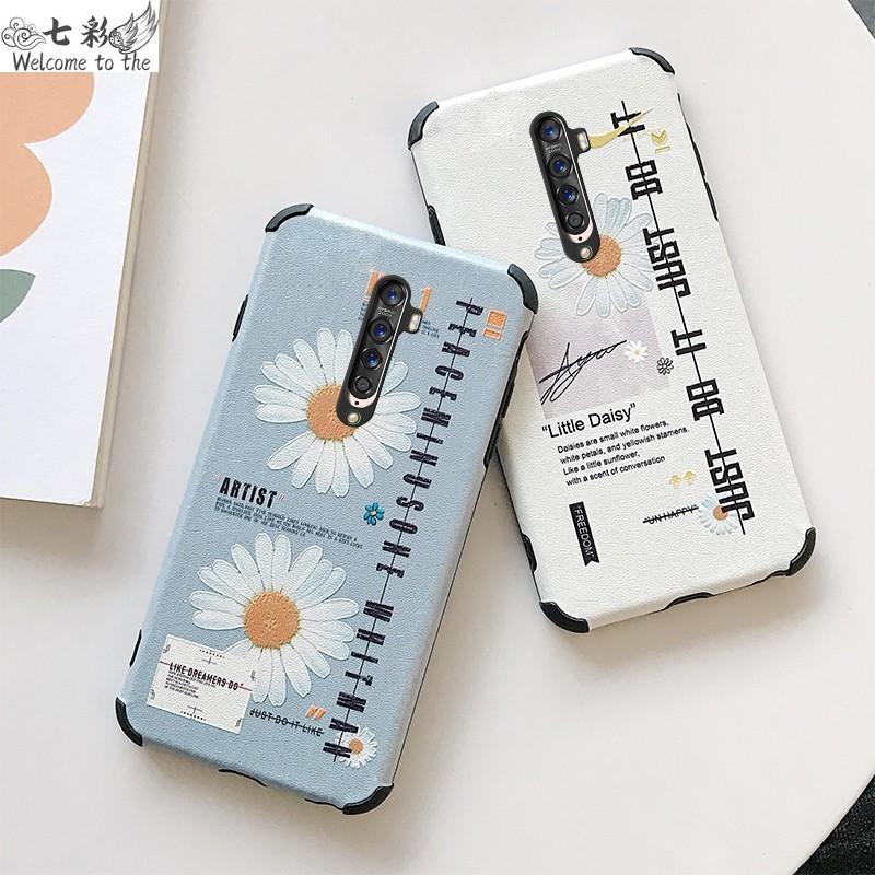 七彩 OPPO Reno10X/Z/2 R11S A9 A5 創意雛菊 AX5 RealmeXT R17 手機殼