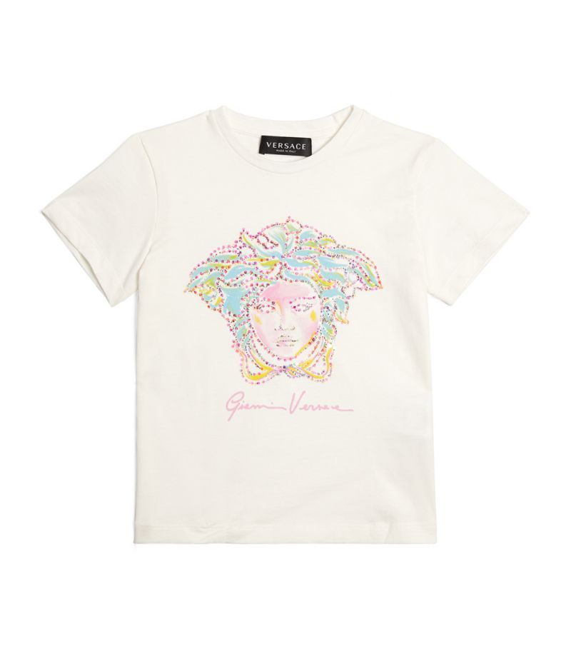 Versace Kids Studded Medusa T-Shirt (4-14 Years)