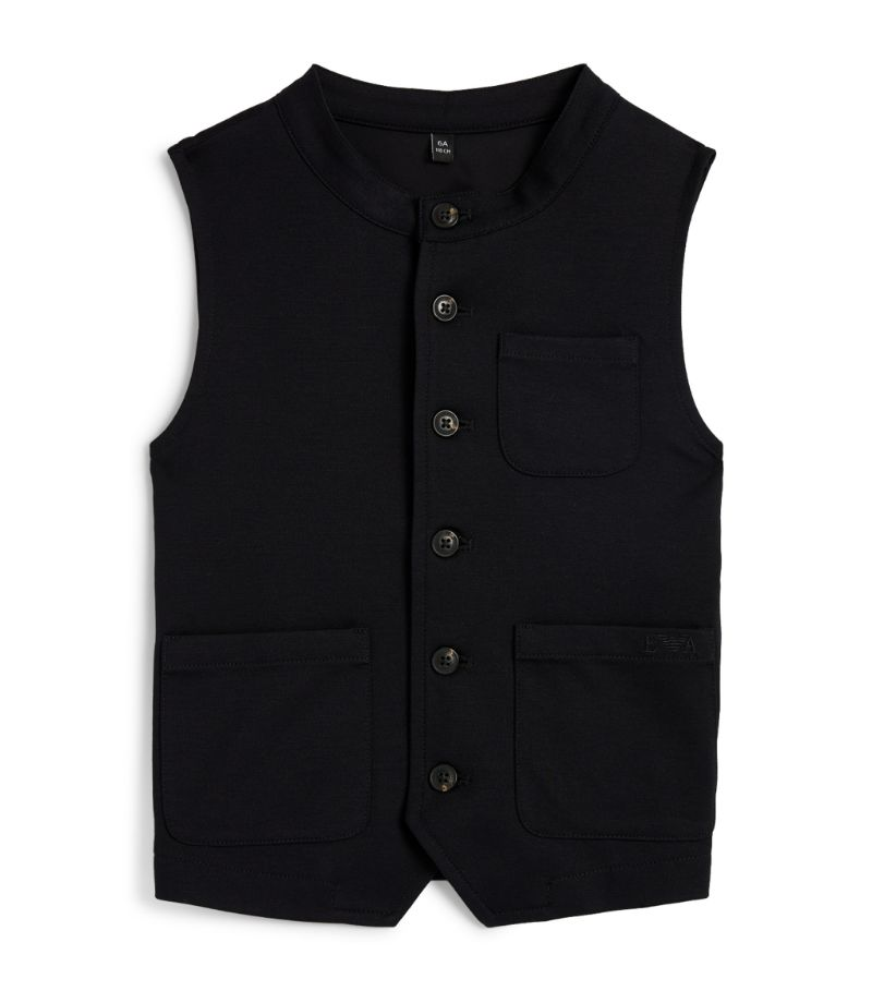 Emporio Armani Kids Button-Up Waistcoat (6-16 Years)