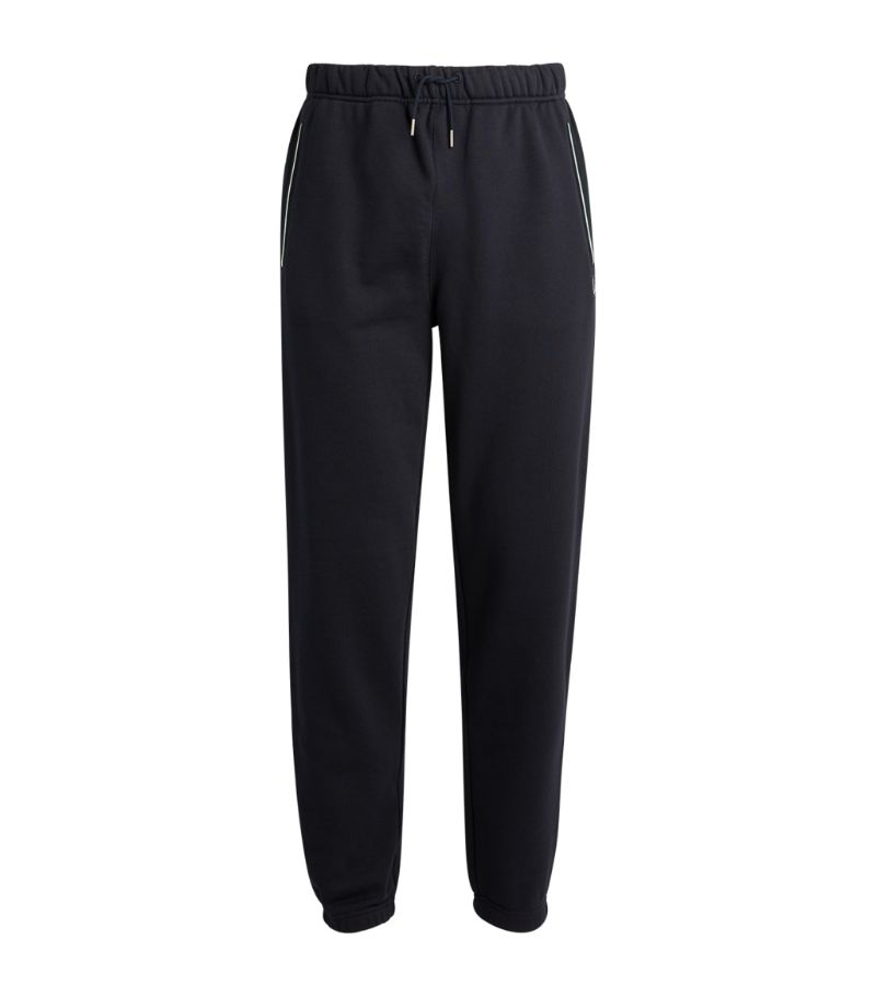 Fred Perry Stripe-Trim Laurel Wreath Sweatpants