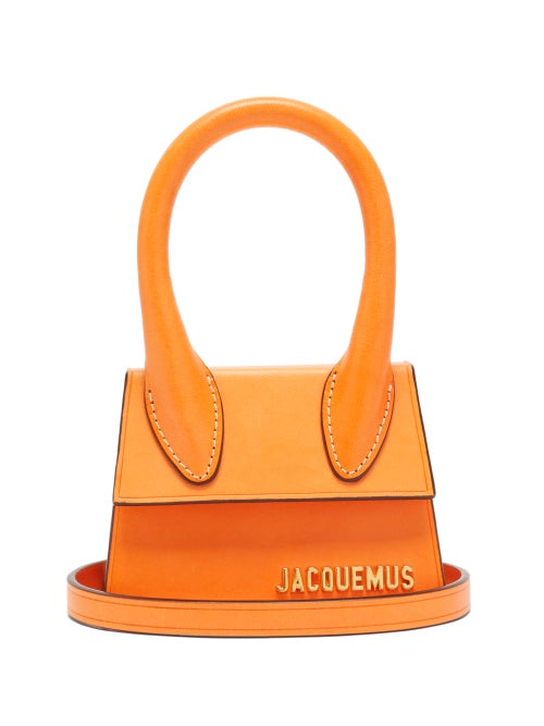 Jacquemus - Chiquito Leather Cross-body Bag - Womens - Orange