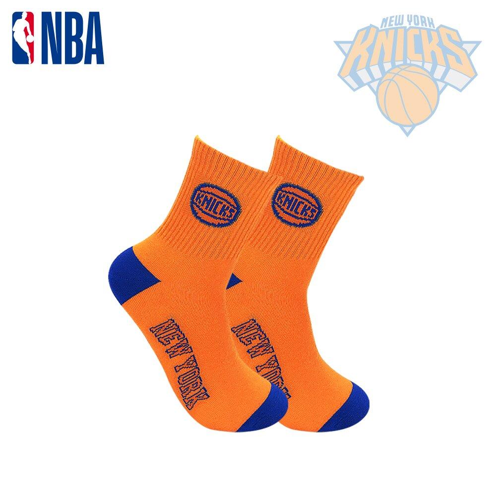 NBA 尼克隊 球隊款緹花中筒襪.運動襪.籃球襪.平版襪.襪子