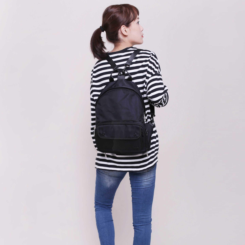 【加價購$599】E系列擴充型側背包M-背包版