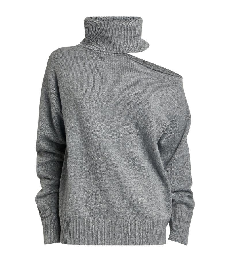 Paige Raundi Open-Shoulder Sweater