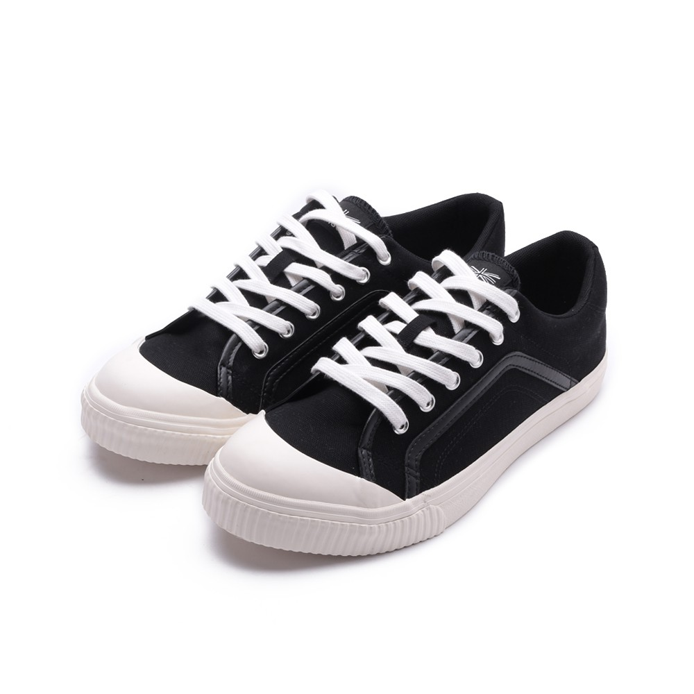 KANGOL 休閒帆布鞋 黑 6021200220 男鞋