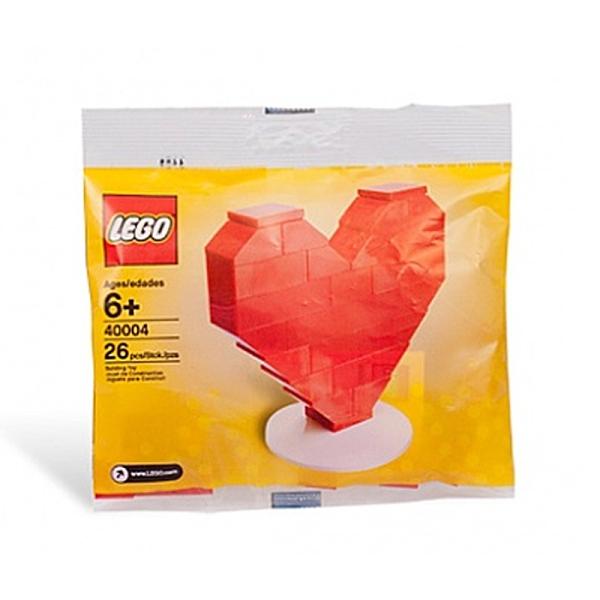 LEGO 樂高 Heart 2010 polybag 愛心裝飾 40004