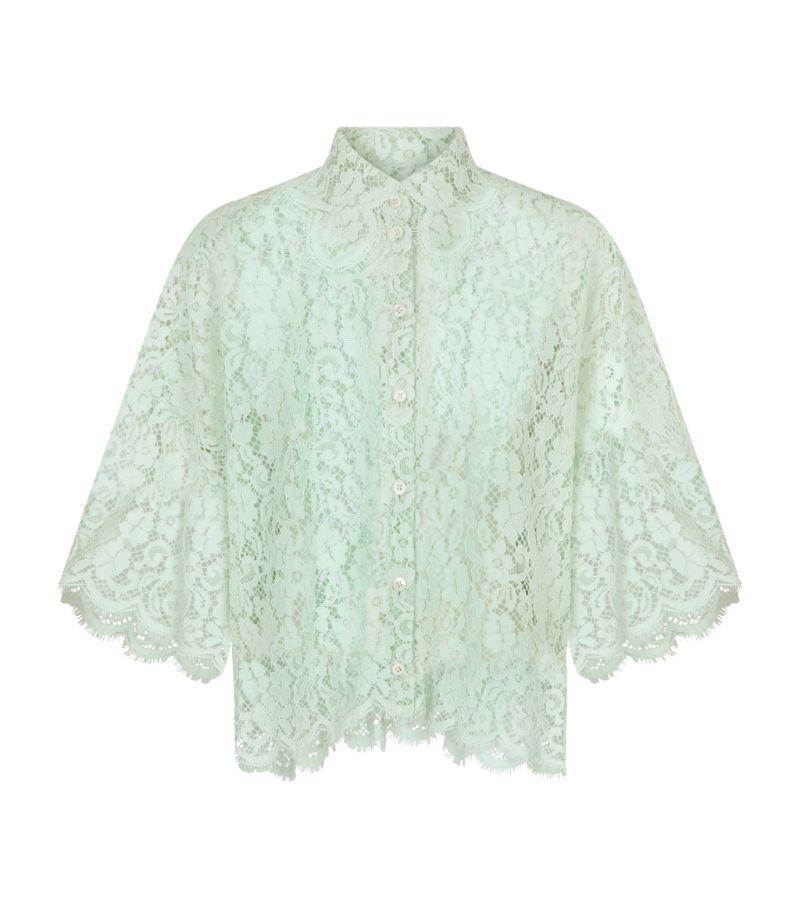 Dolce & Gabbana Lace Shirt