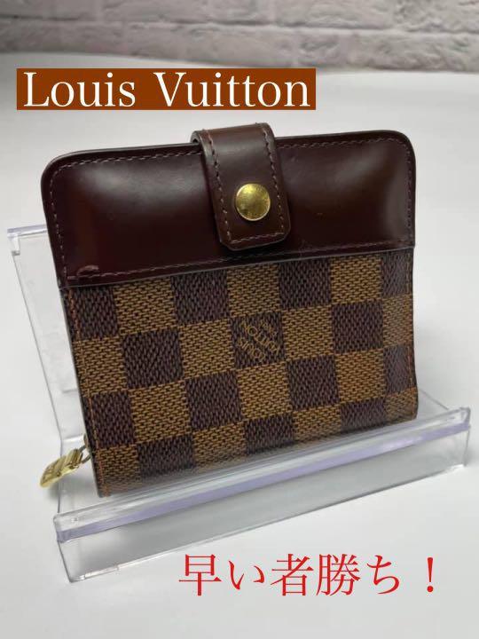 日本直送 二手 8成新 LOUIS VUITTON 路易威登 錢包 老花 mercari
