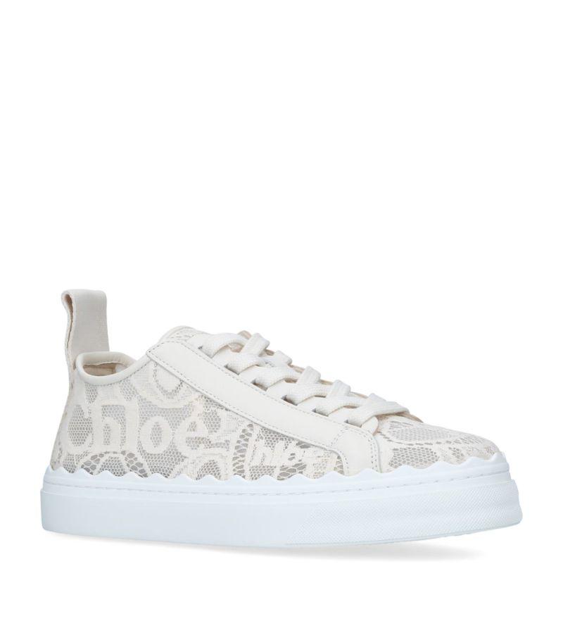 Chloé Lace Lauren Sneakers