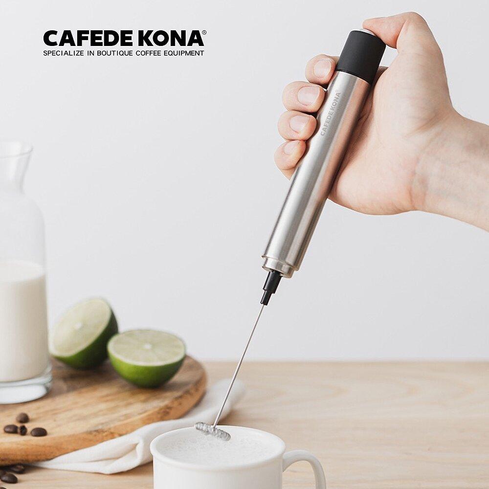 CAFEDE KONA 不鏽鋼牛奶攪拌器