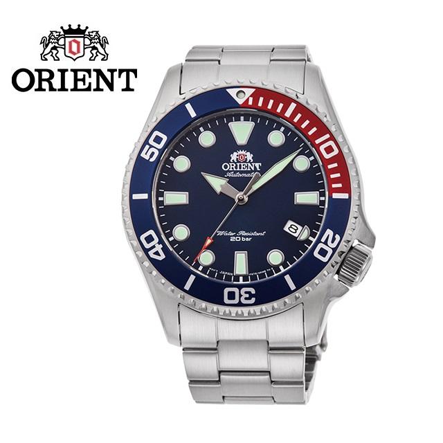 ORIENT 東方錶 SPORTS系列 WATER RESISTANT 200m潛水錶 鋼帶款 藍色 RA-AC0K03L - 43.4mm