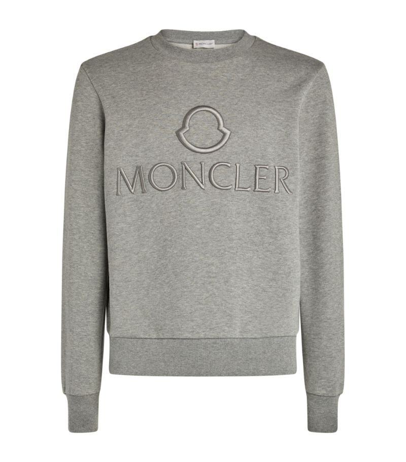 Moncler Embroidered Logo Sweatshirt