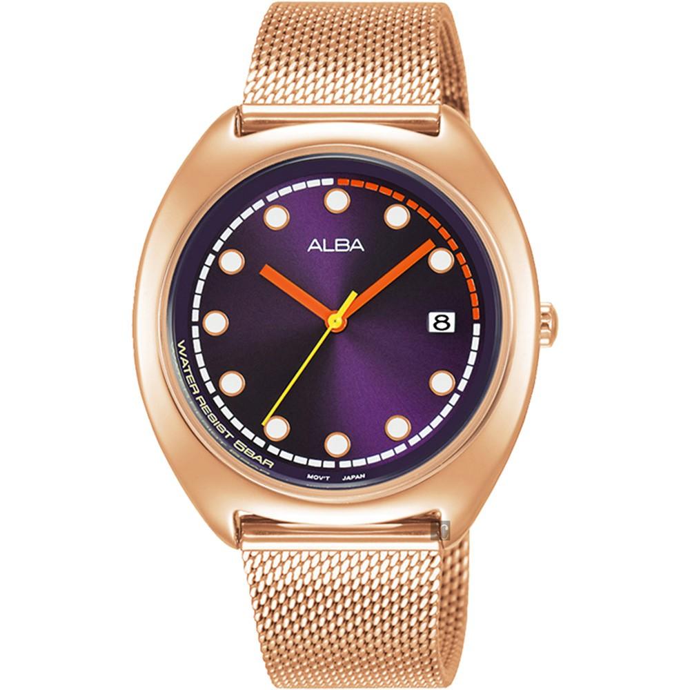 ALBA 雅柏 東京米蘭帶女錶-36mm VJ32-X304K(AG8K42X)