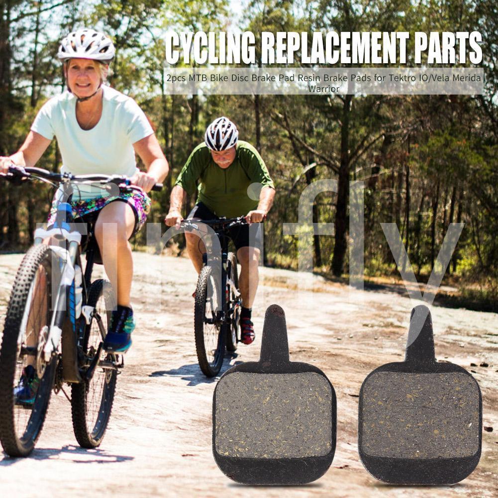 (Finifly) 2pcs Mtb 自行車盤式剎車片自行車更換零件, 用於 Tektro Io / Vela