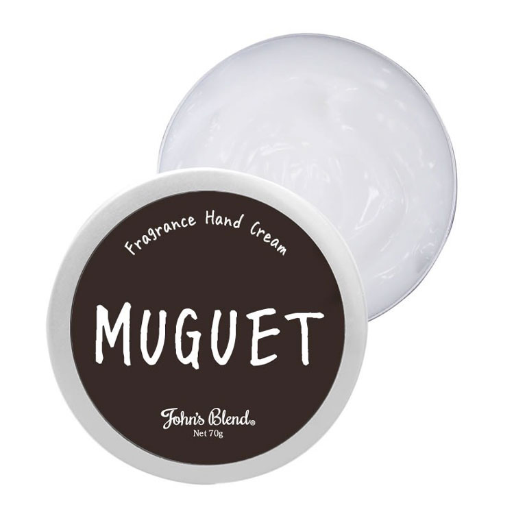 【日本John′s Blend】Muguet 春日鈴蘭香調 香氛保濕 護手霜 (70g)