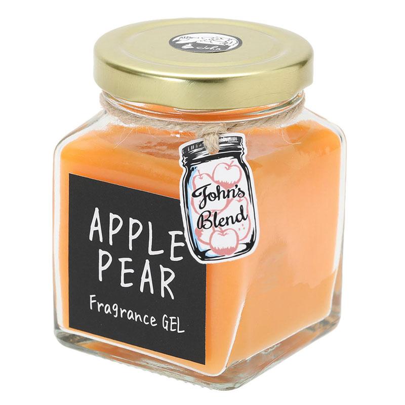 【日本John′s Blend】Apple Pear 蘋果梨 輕甜果香 芳香凝膠 / 芳香膏 (135g)