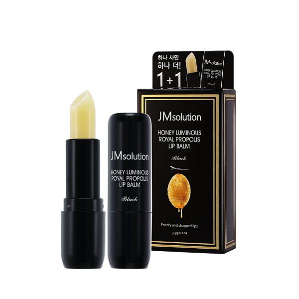 JM solution 1+1 蜂蜜水光護唇膏 (3.5g*2 一組兩支) 有效期2021/10/18