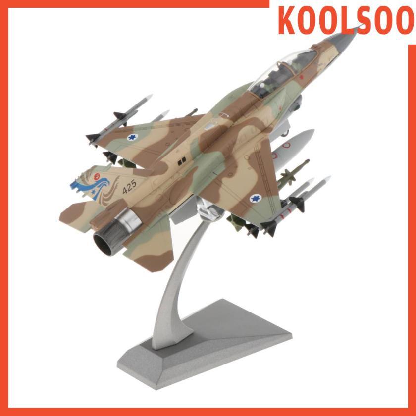 [KOOLSOO] 1/72比例壓鑄合金軍用飛機模型F-16I打擊以色列獵鷹