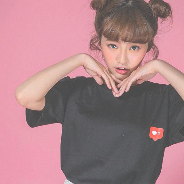 Click the like it短袖衫-NU98