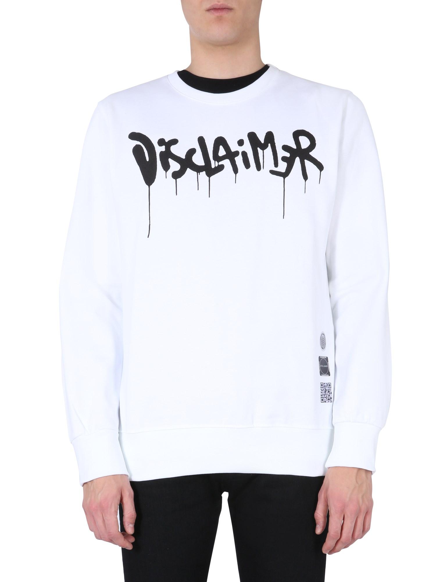 disclaimer long sleeve t-shirt