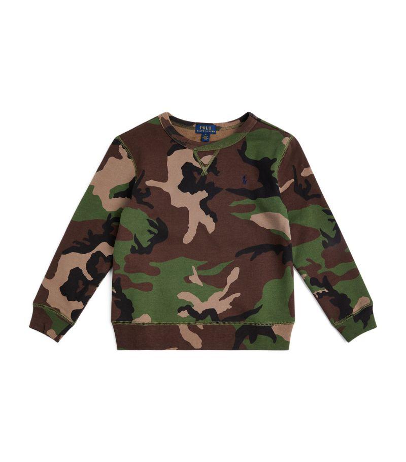 Ralph Lauren Kids Camouflage Sweatshirt (5-7 Years)