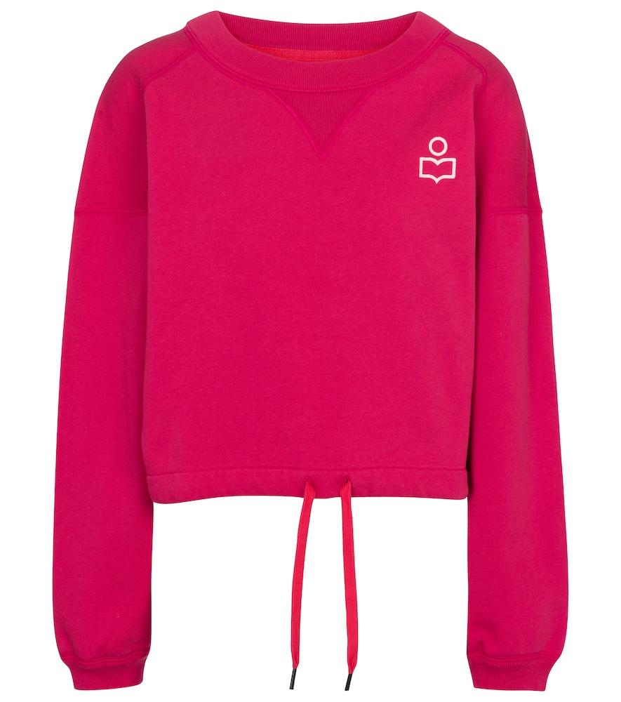 Margo cotton jersey sweatshirt