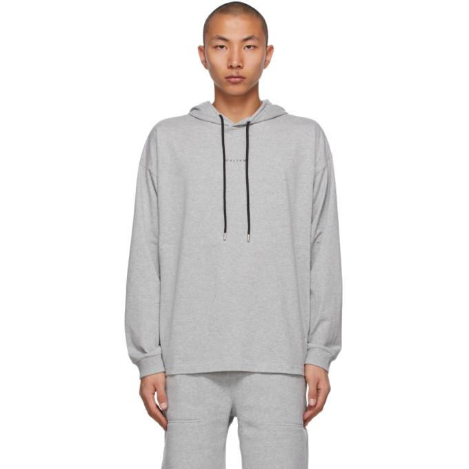 1017 ALYX 9SM 灰色 Visual 连帽衫