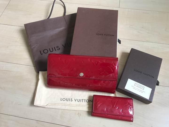 日本直送 二手 LOUIS VUITTON 路易威登 錢包 鑰匙包 Vernis mercari