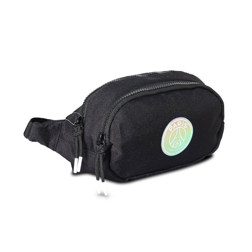 NIKE 腰包 Festival Waist Bag 男女款 巴黎聖日耳曼 背帶可調 外出 黑 白 [JD2113003AD-001]
