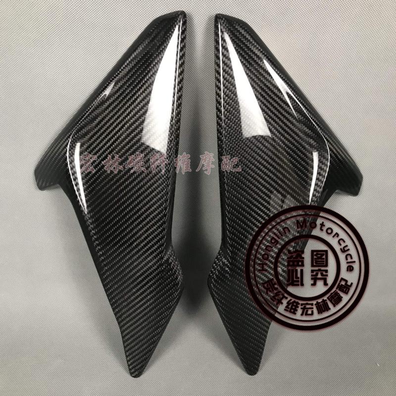 適用於寶馬BMW S1000R 單R 18-19年碳纖維改裝配件車身側蓋正carbon
