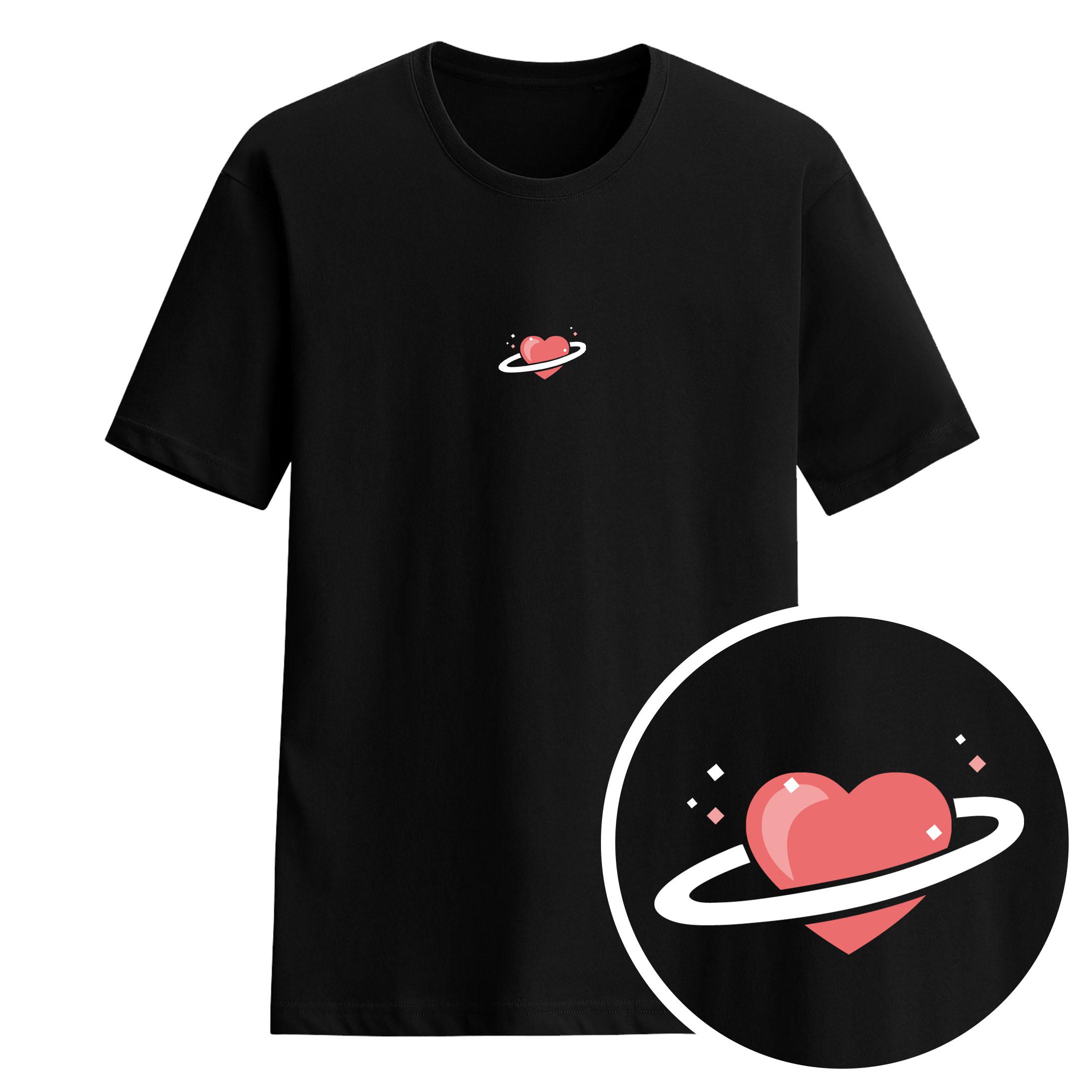 愛心行星短袖衫-GT88