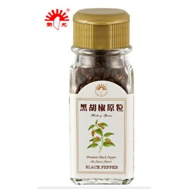【新光洋菜】玻璃瓶-黑胡椒原粒28g