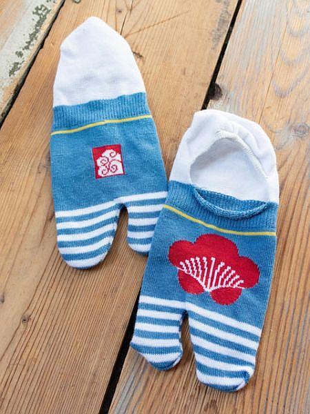 UME隱形TABI襪子23-25厘米