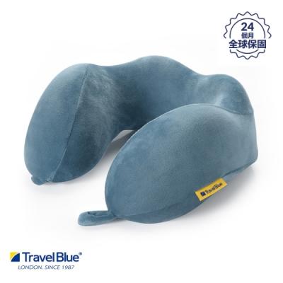 【 Travel Blue藍旅】 寧靜頸枕 / 飛機枕/ U型枕 記憶棉 Tranquillity 藍色 TB212-BL