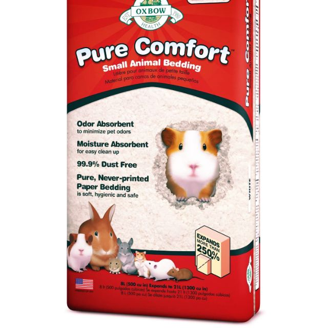YES天然草原系#Oxbow寵物紙棉/純紙漿舒適床墊8.2L