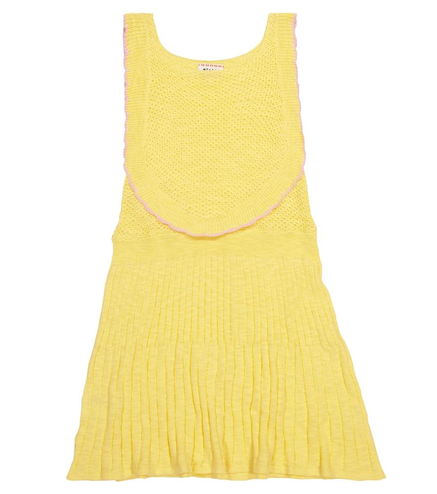 Nanna cotton-blend dress