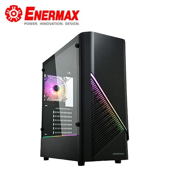 【ENERMAX 安耐美】Leonids LN30 流星戰士 鋼化玻璃機殼