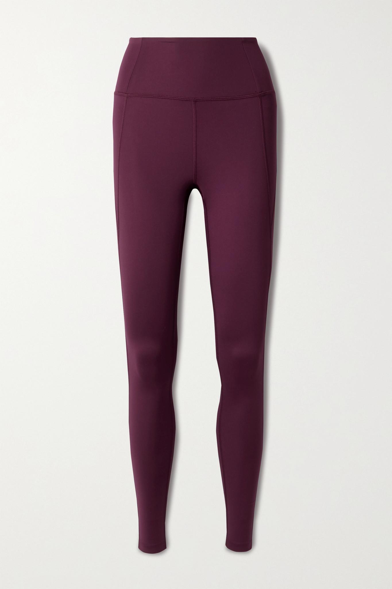 GIRLFRIEND COLLECTIVE - Compressive Stretch Leggings - Purple - XL