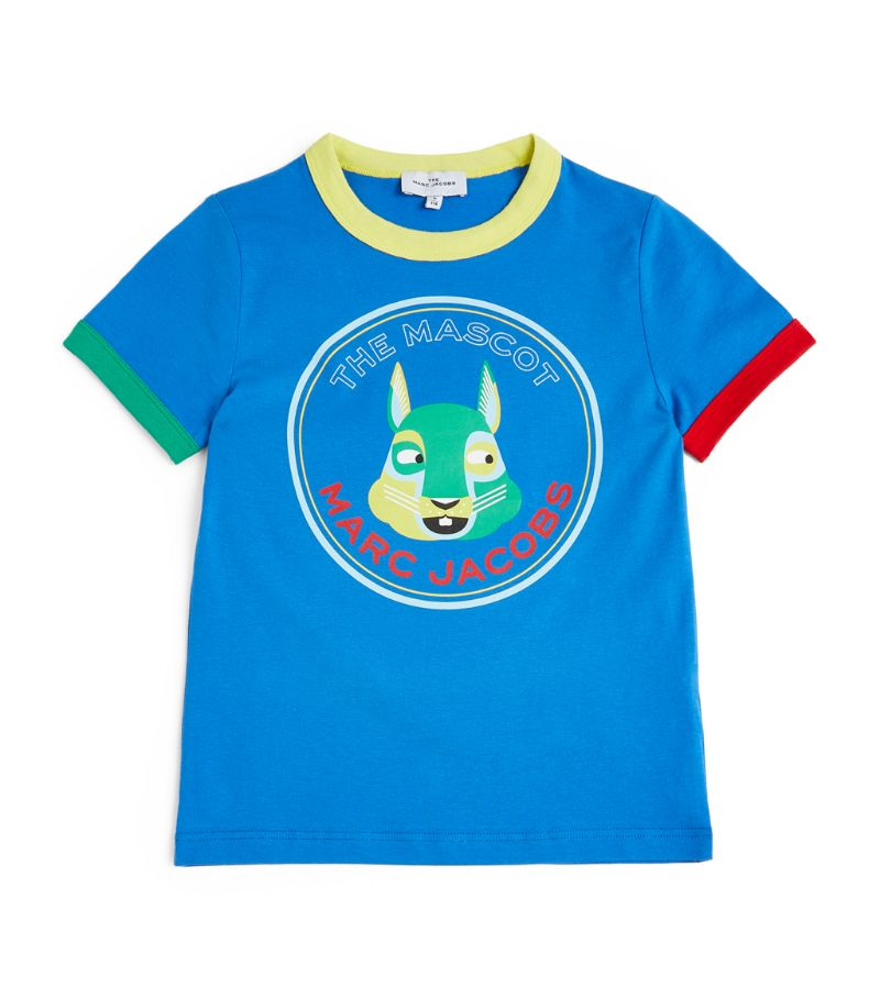 The Marc Jacobs Kids The Mascot Logo T-Shirt (4-14 Years)