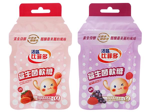 比菲多~益生菌軟糖(30g) 草莓/葡萄 款式可選【D963144】