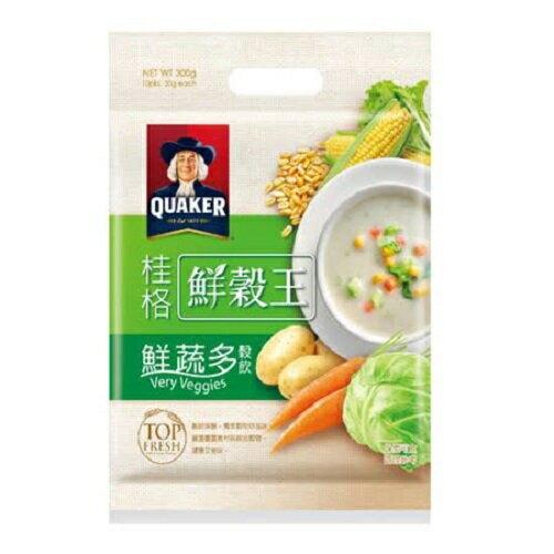 桂格鮮蔬多鮮穀王30Gx10 超值二入組【愛買】
