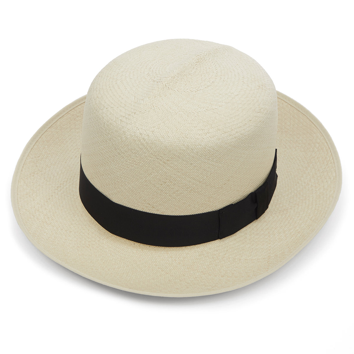 Highgrade Folder Panama Hat - Semi Bleached 55