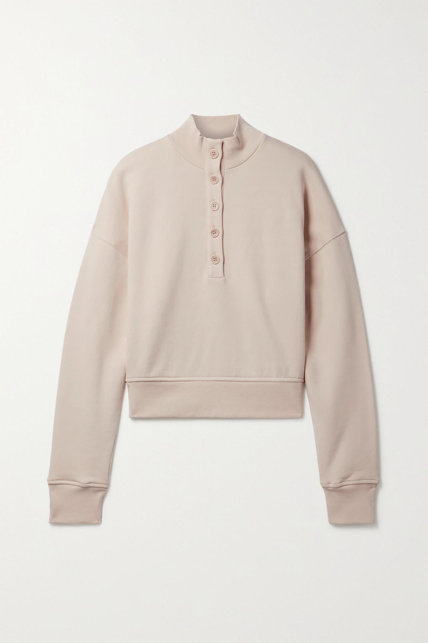 REFORMATION - 【net Sustain】marla 有机纯棉平纹布卫衣 - 中性色 - large