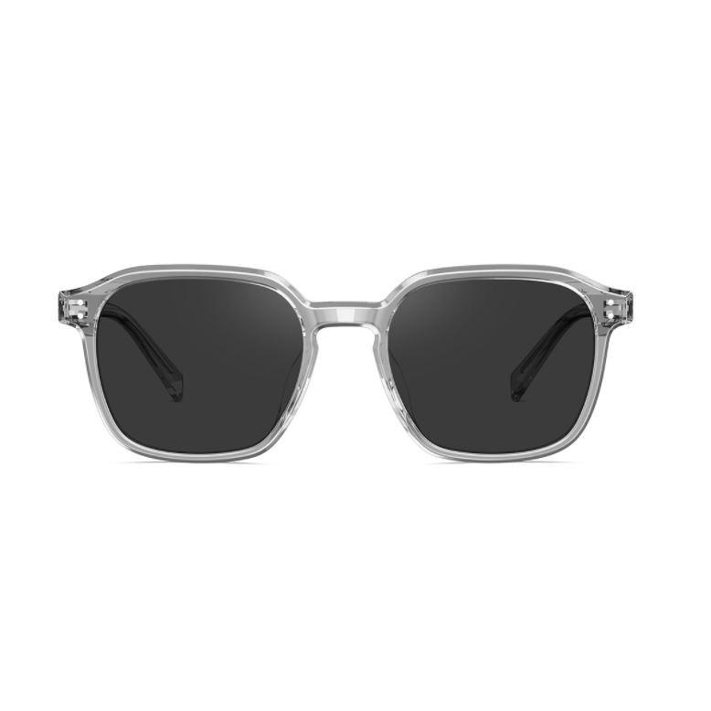 陌森透明邊框質感造型男士太陽鏡墨鏡MS3013(二色可選) - 2021新品