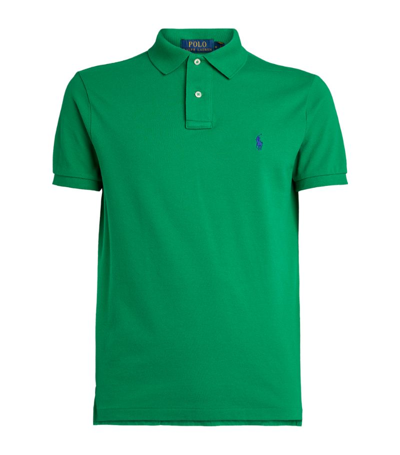 Polo Ralph Lauren Cotton Slim-Fit Mesh Polo Shirt