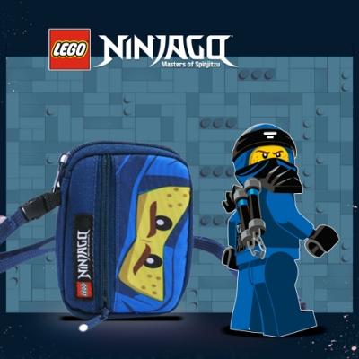 LEGO丹麥樂高卡片皮夾-藍忍者 20063-2002