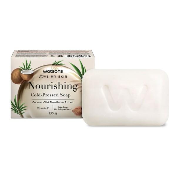 屈臣氏潤膚冷壓香皂135g