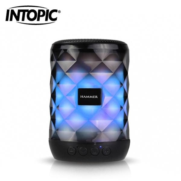 【INTOPIC 廣鼎】多功能炫彩LED藍牙喇叭(SP-HM-BT161)
