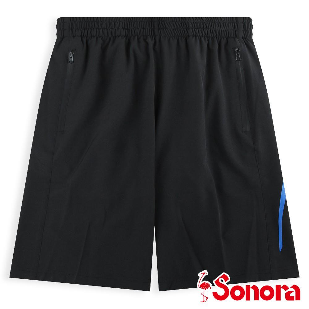 【SONORA 尚諾奈】MIT運動短褲 - 男裝(黑色)